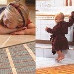 گرمایش از کف داخلی سطوح داخلی ساختمان